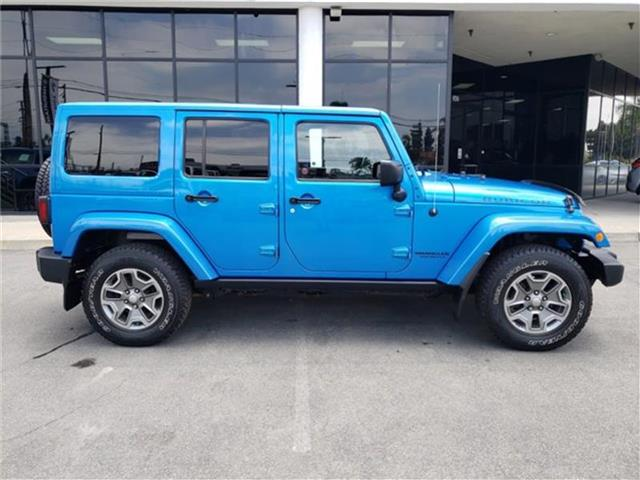 Pre-Owned 2015 Jeep Wrangler Unlimited Rubicon 4dr 4x4