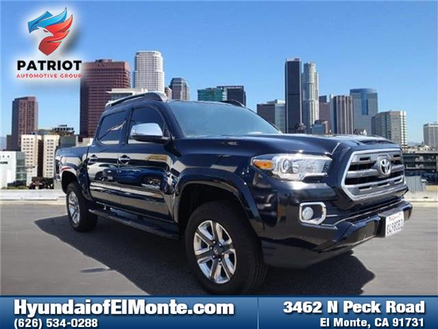 Pre-Owned 2016 Toyota Tacoma Limited V6 (A6) 4x4 Double Cab 127.4 in. WB